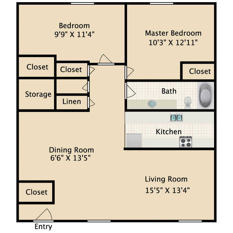 Floor plan image of Sherwood
