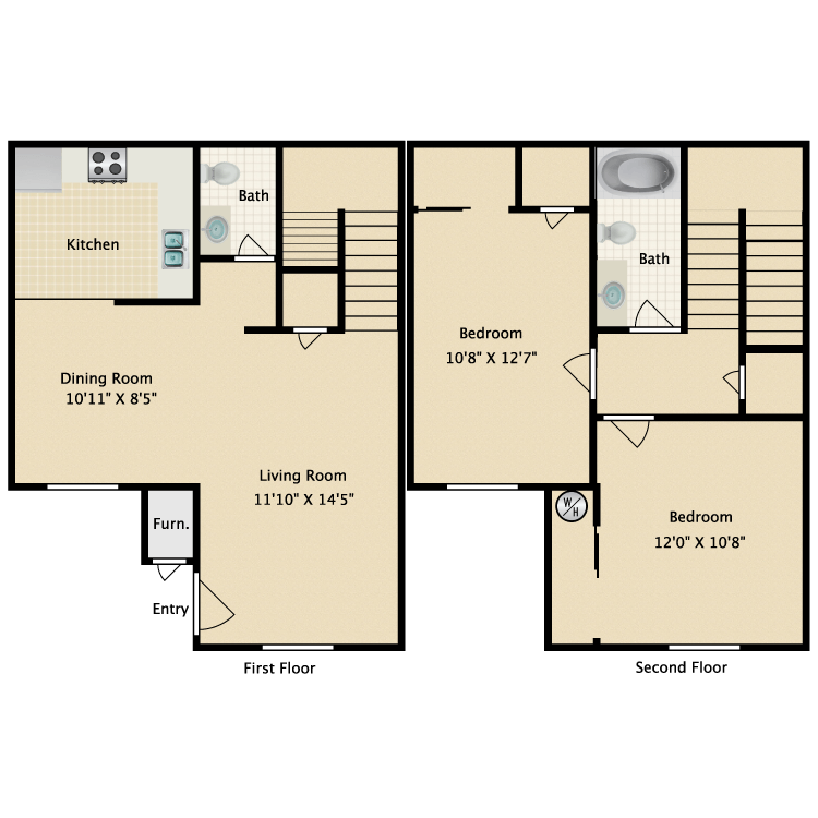 Floor plan image of Tudor