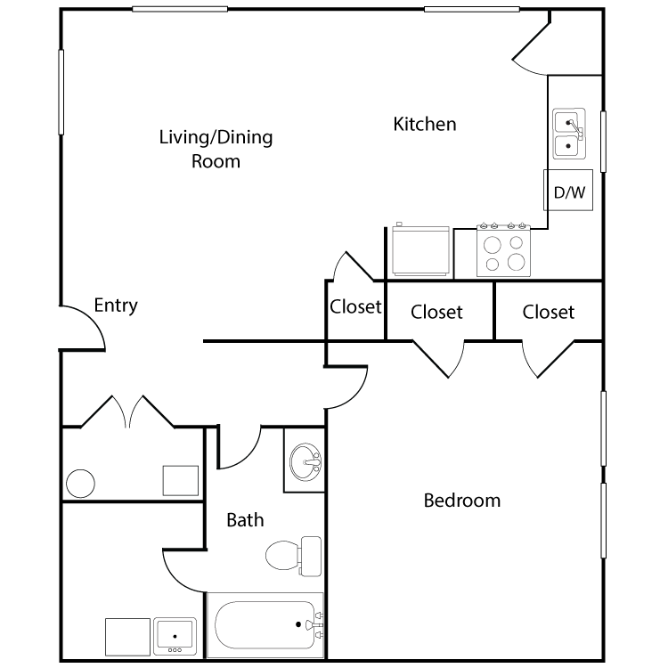 Floor plan image of Colonial Single FH