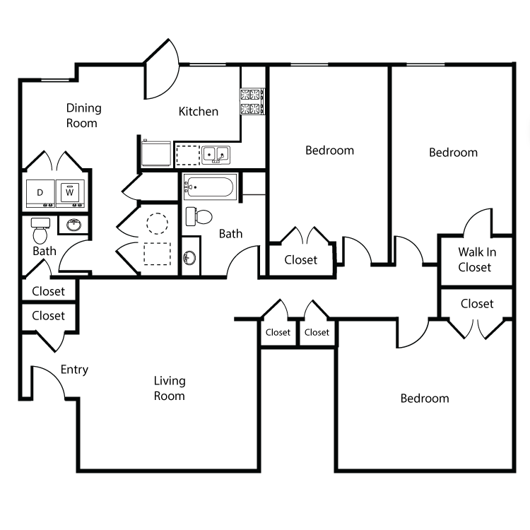 Floor plan image of Colonial 5 - Plan A