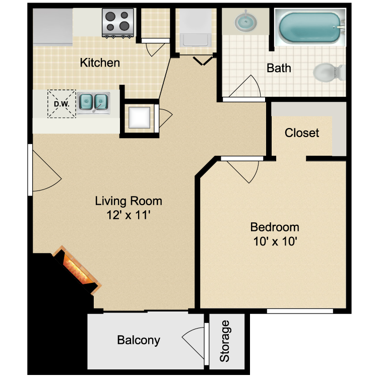 Floor plan image of Brentwood