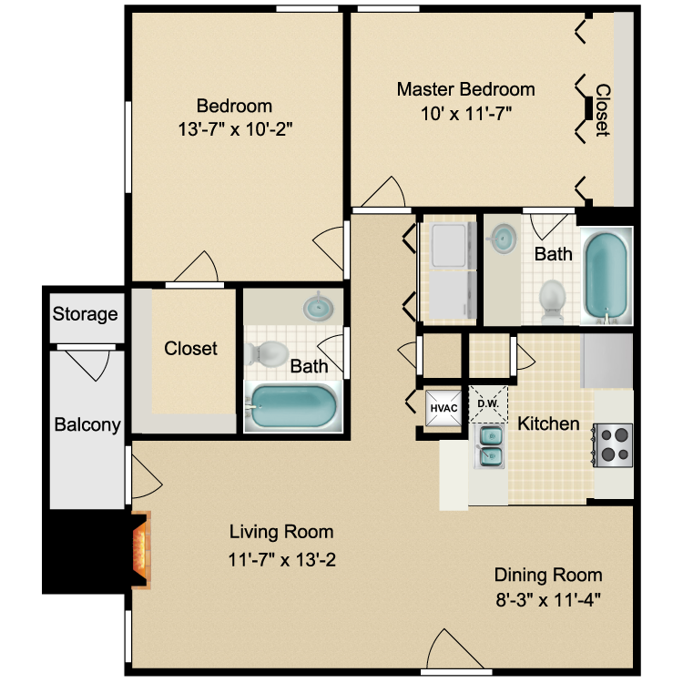 Floor plan image of Franklin