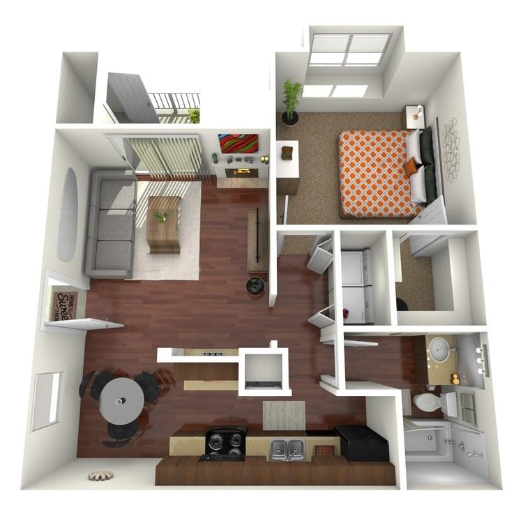 Floor plan image of Brook
