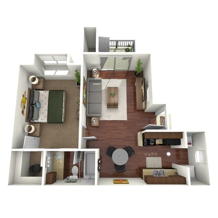 Floor plan image of Meadow