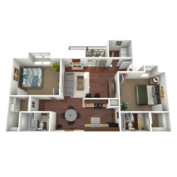Floor plan image of Ridge