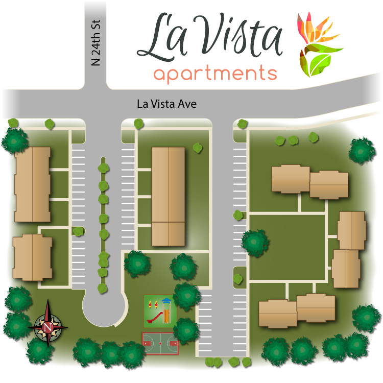 La Vista Site Map