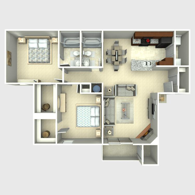 Floor plan image of The Ontario