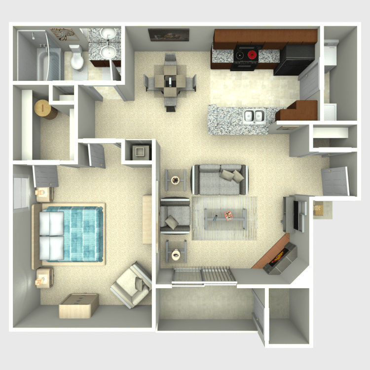 Floor plan image of The Superior