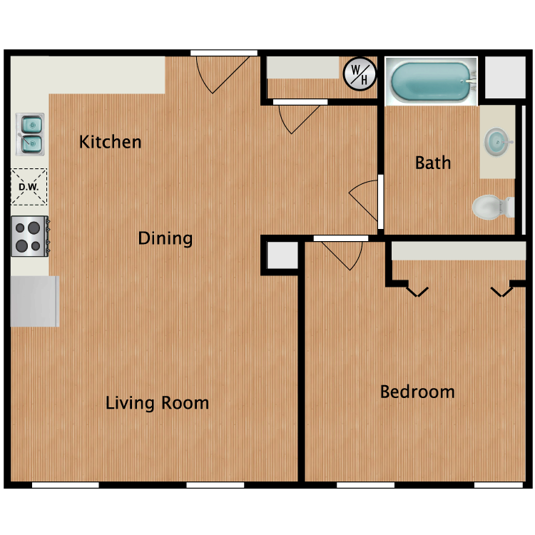 Floor plan image of Senior A