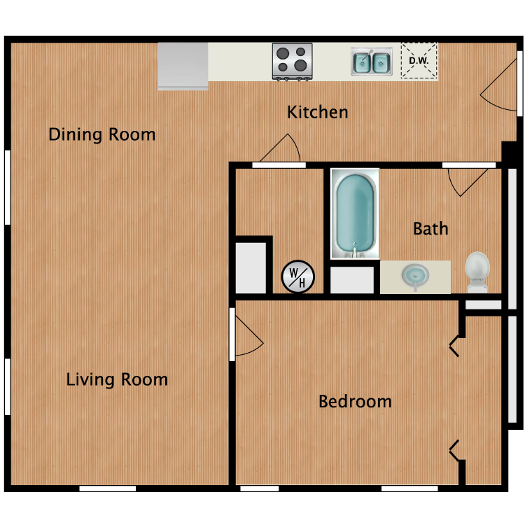 Floor plan image of Senior B