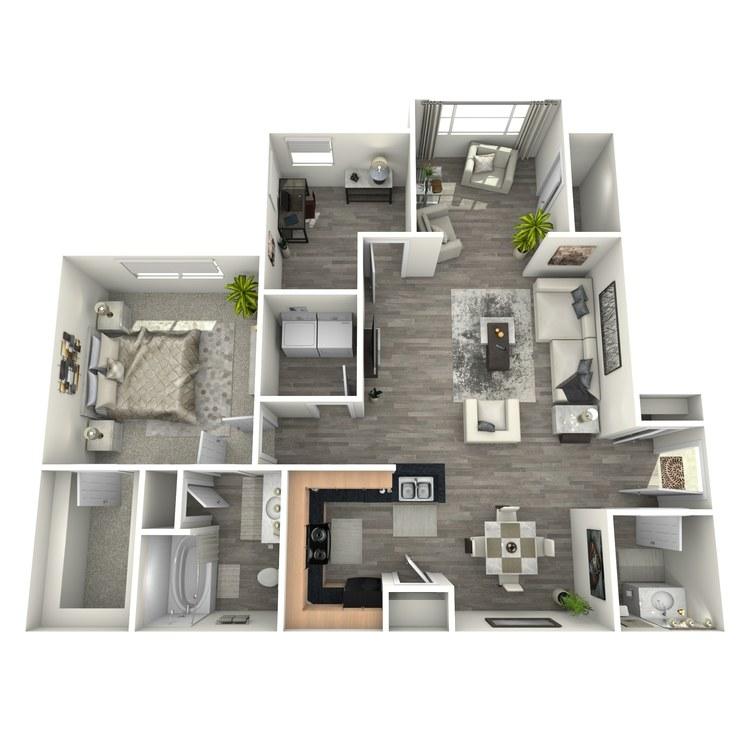 Floor plan image of Morgan