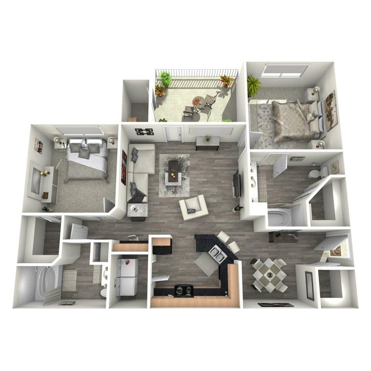 Floor plan image of Quarter Horse