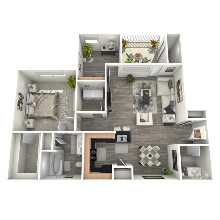 Floor plan image of Tarpan