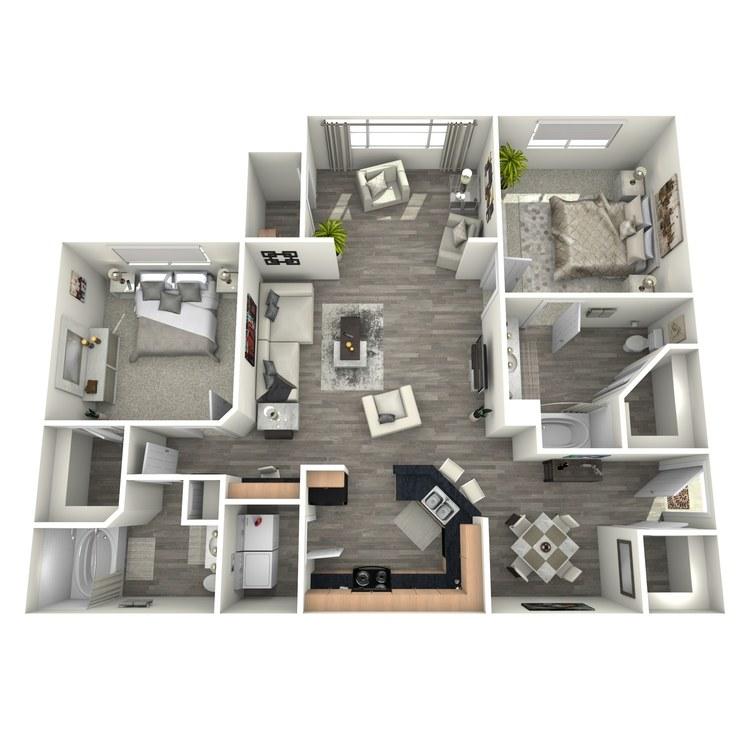 Floor plan image of Boer