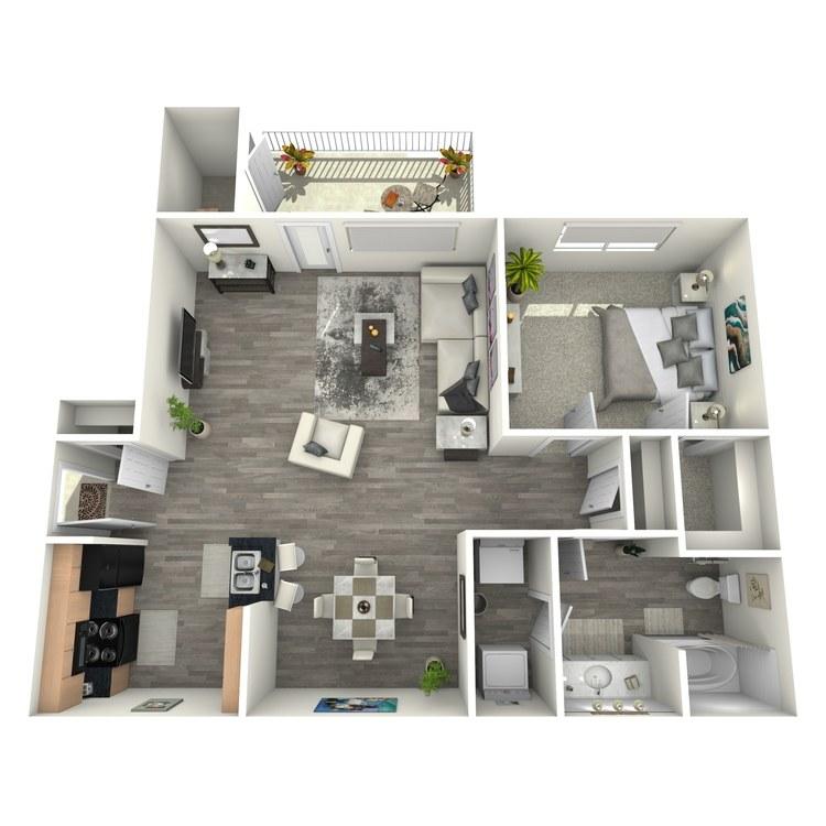 Floor plan image of Caspian