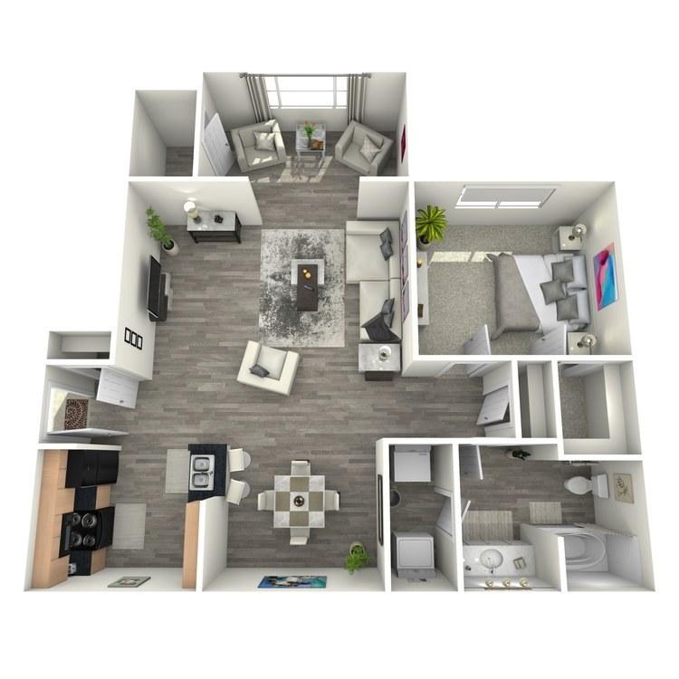 Floor plan image of Arabian