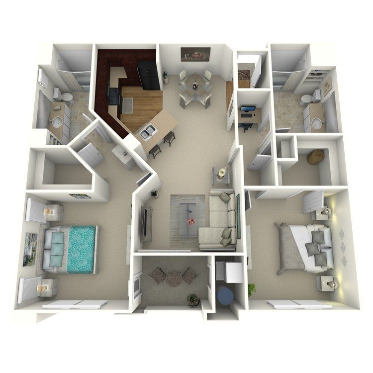 The Parkway floor plan image