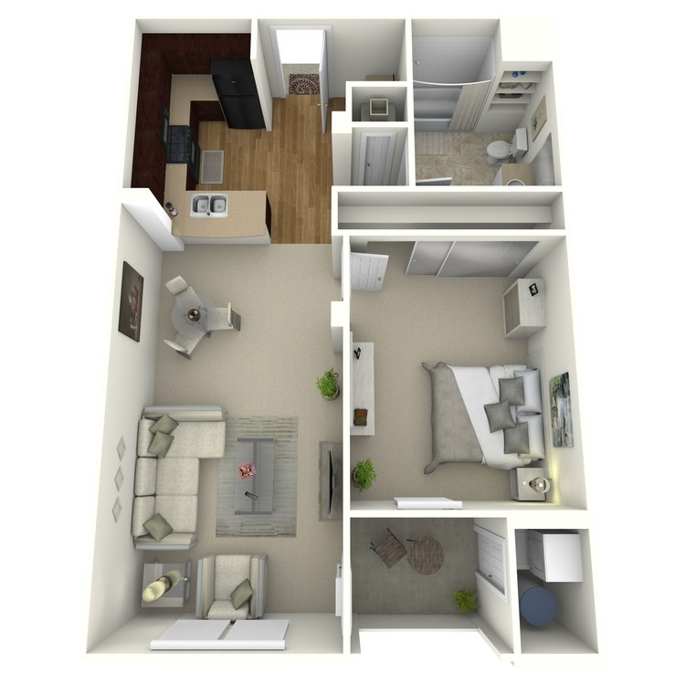 The Boulevard floor plan image