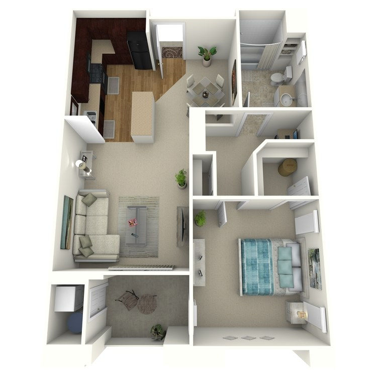 The Avenue floor plan image