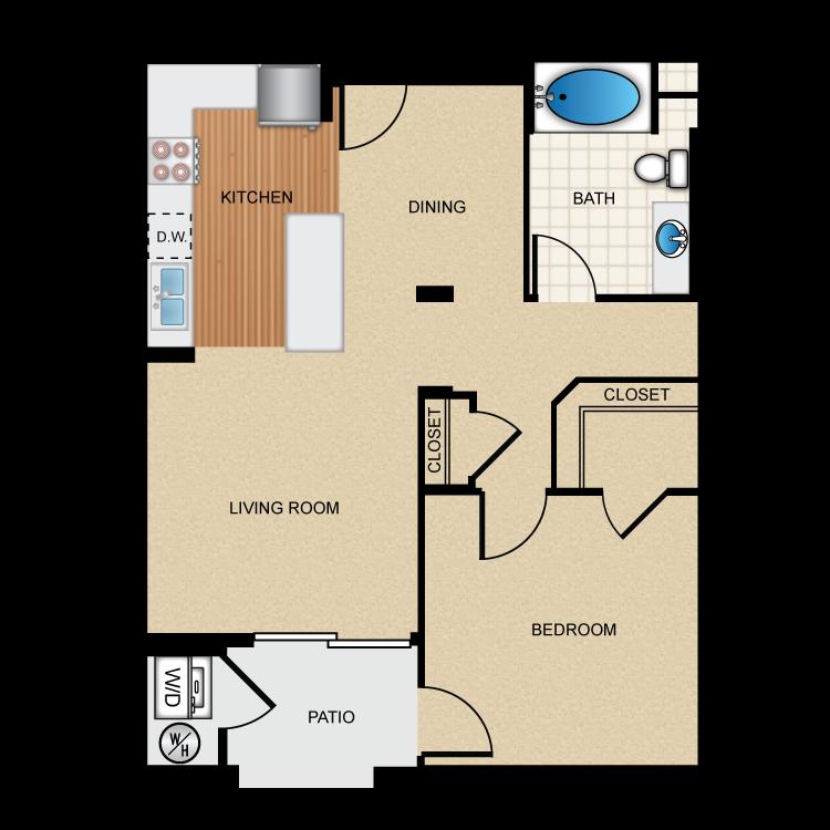 The Avenue floor plan image