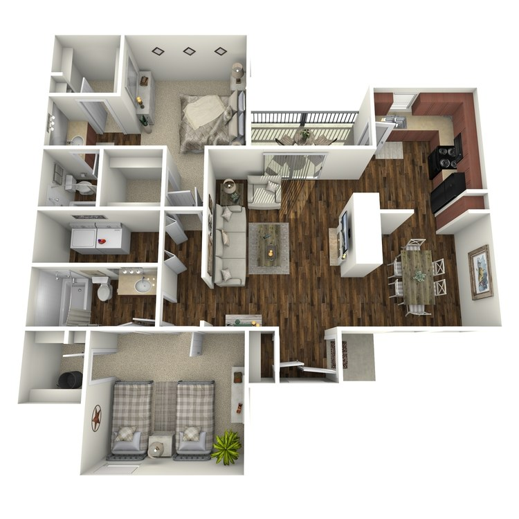 Floor plan image of Rockport