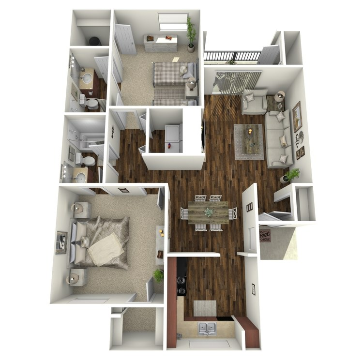 Floor plan image of Hamilton