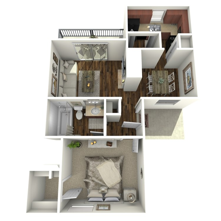 Floor plan image of Danbury