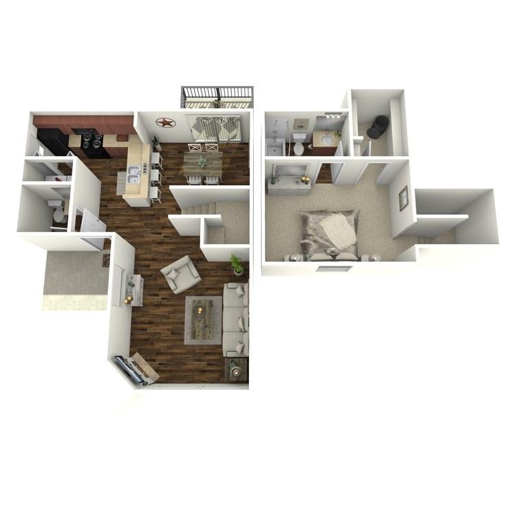 Floor plan image of Valleyview