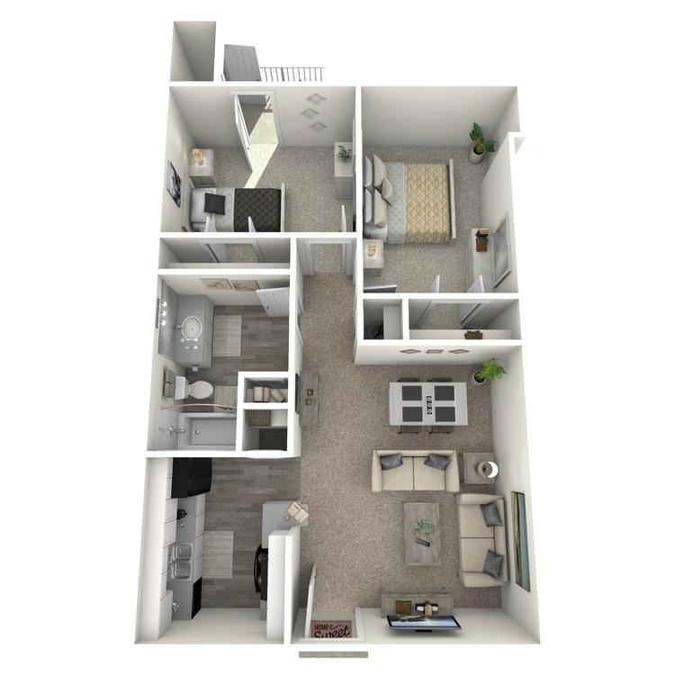 B2-NB floor plan image