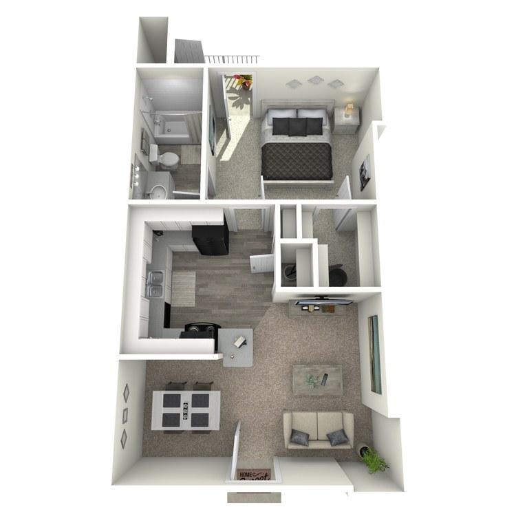 A2-NB floor plan image