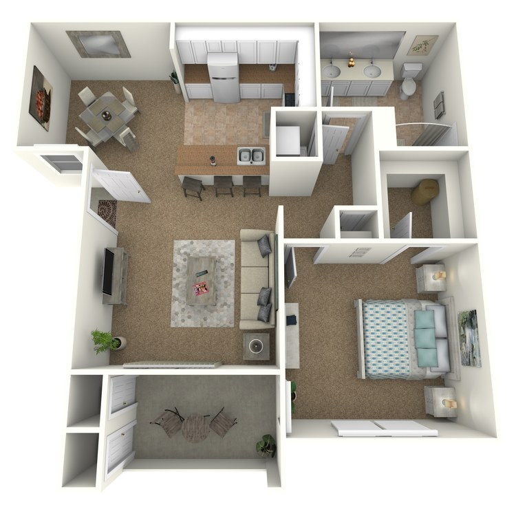 Floor plan image of Harvey Mudd