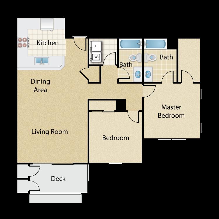 Pitzer floor plan image