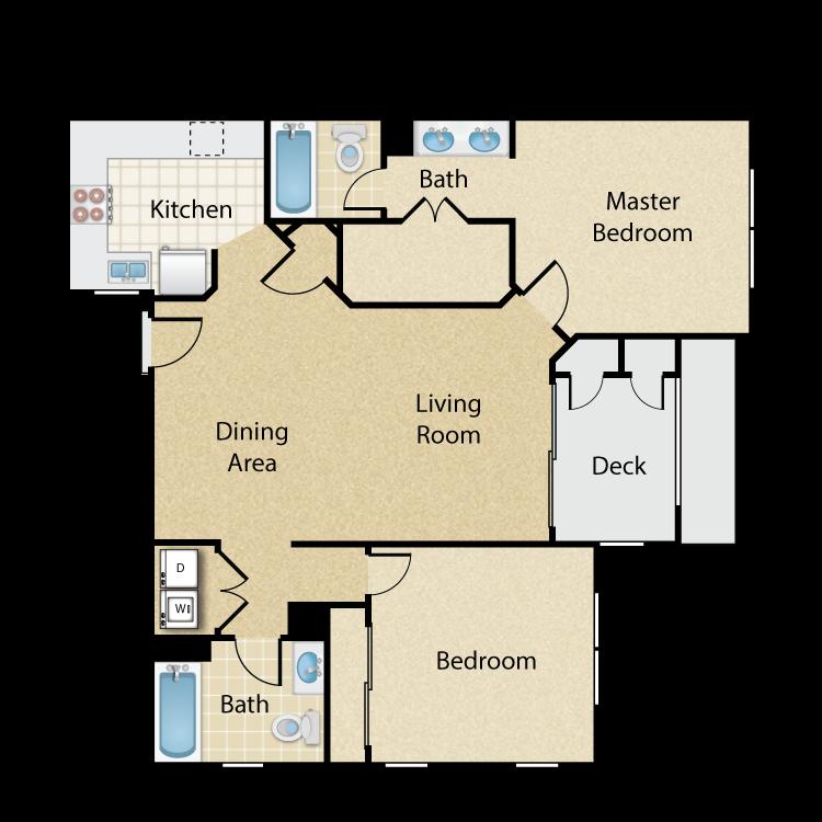Pomona floor plan image