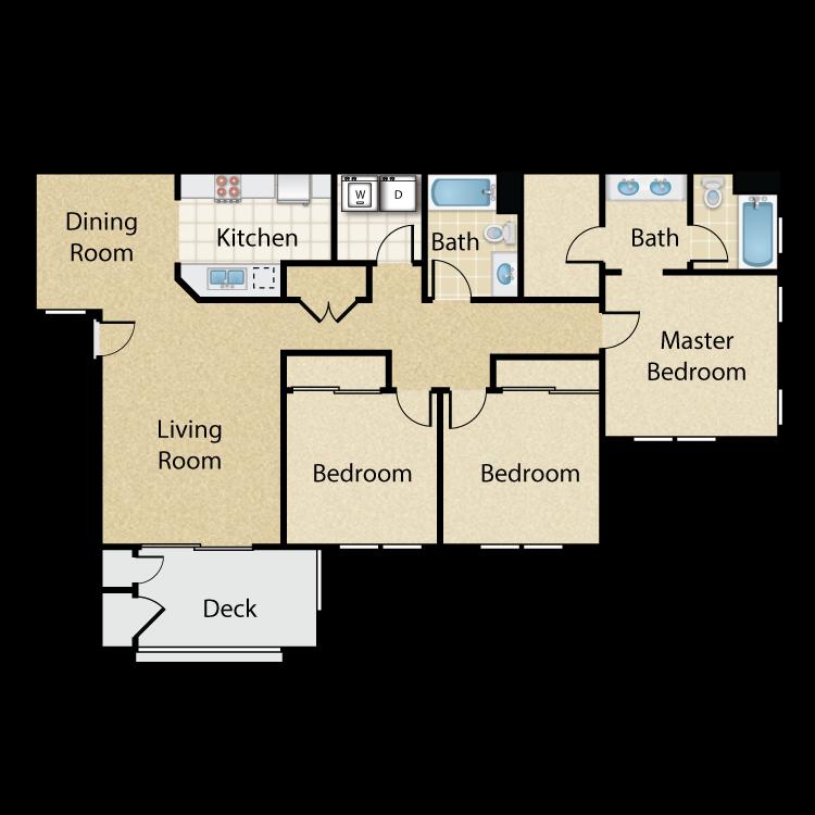 Scripps floor plan image