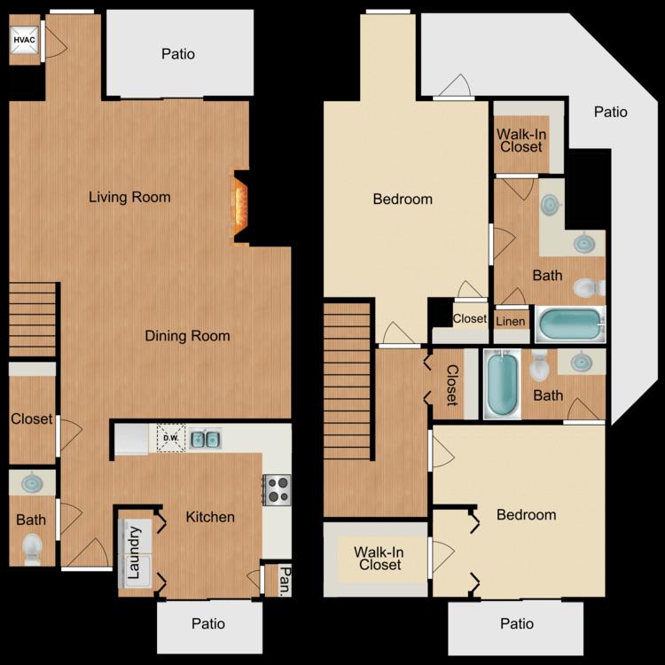 Floor plan image of Girona