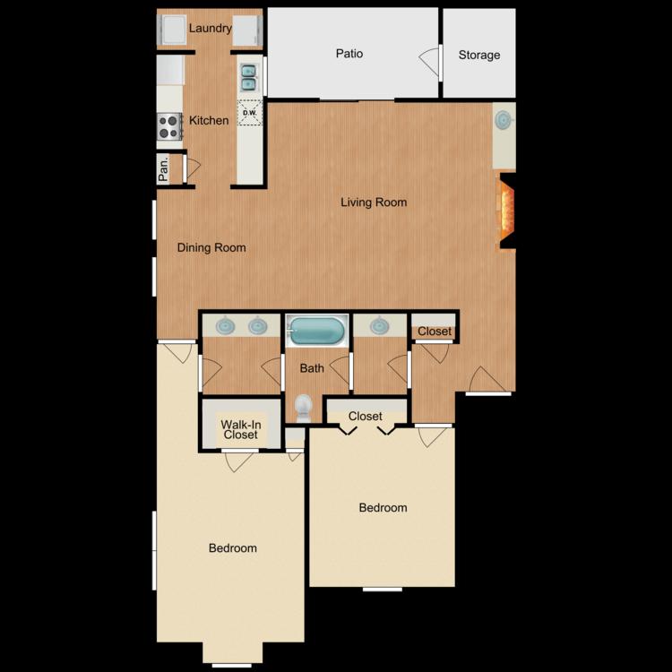 Floor plan image of Bilbao