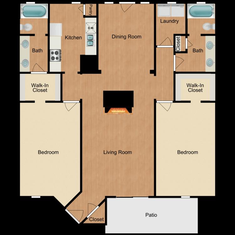 Floor plan image of Valencia