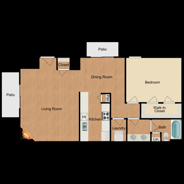 Floor plan image of Salamanca