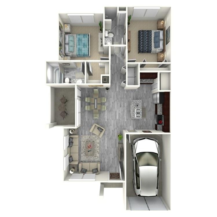 Floor plan image of B7