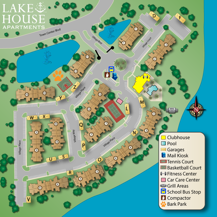 LakehouseSiteMap