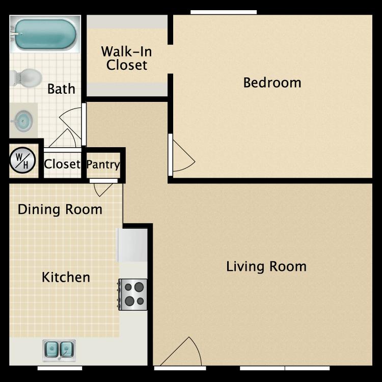 Floor plan image of J
