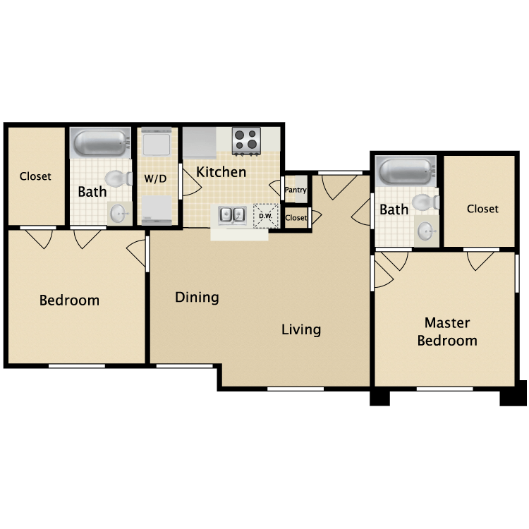 Floor plan image of B3