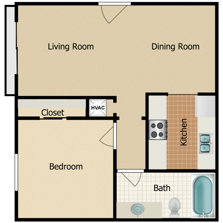 Floor plan image of Pelican B