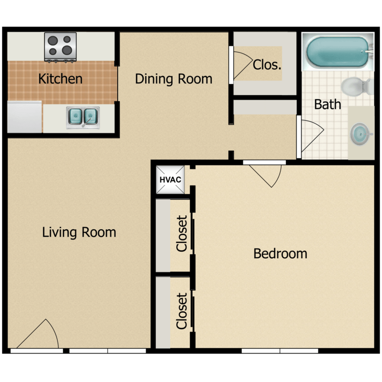 Floor plan image of Pelican C