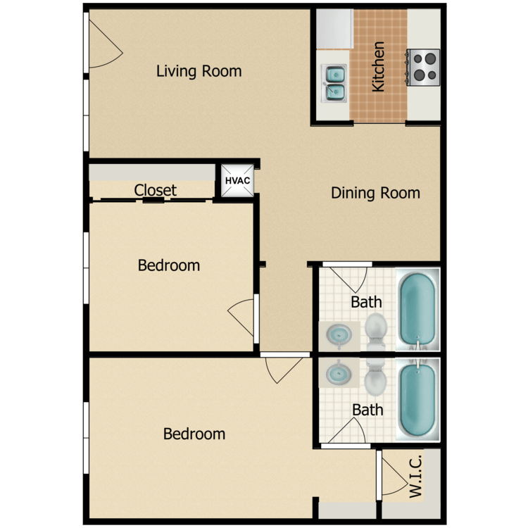 Floor plan image of Pelican E