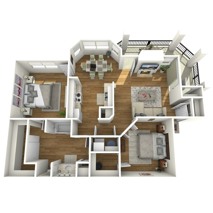 Floor plan image of Sabine