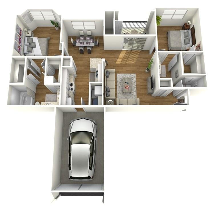 Floor plan image of Blanco