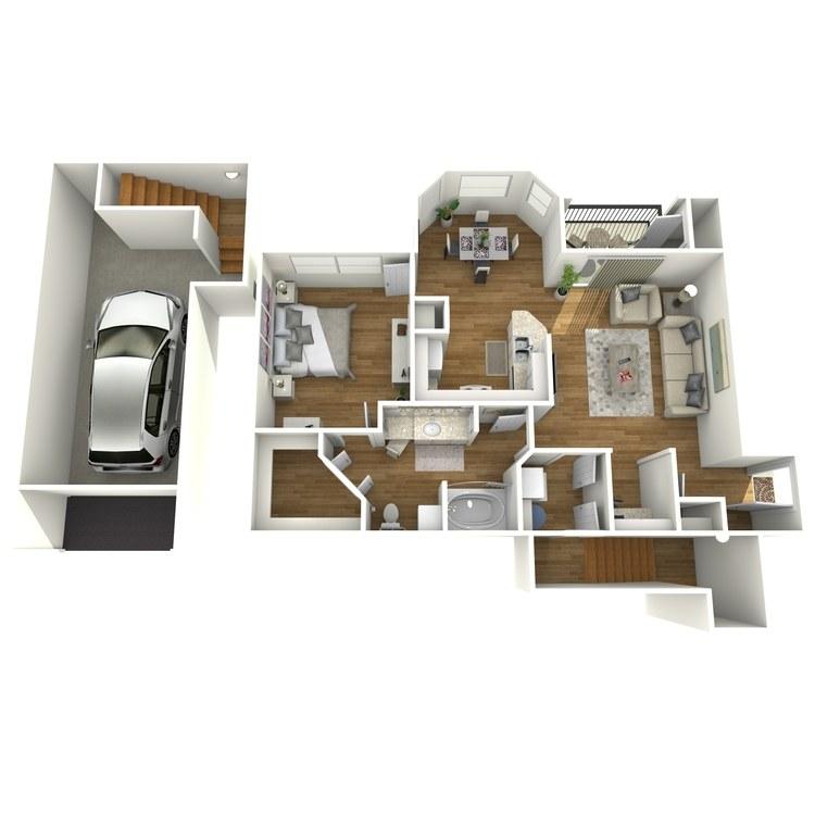 Floor plan image of Lavaca