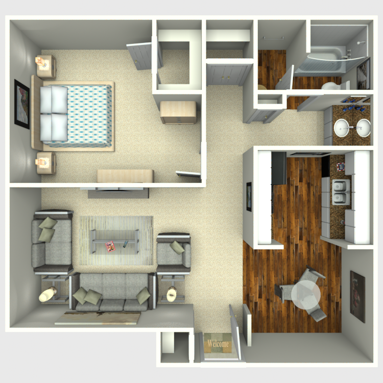 Crossing At 48 Availability Floor Plans Pricing Adorable 1 Bedroom Apartments San Antonio Tx Remodelling