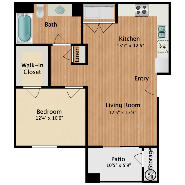 Floor plan image of Avila